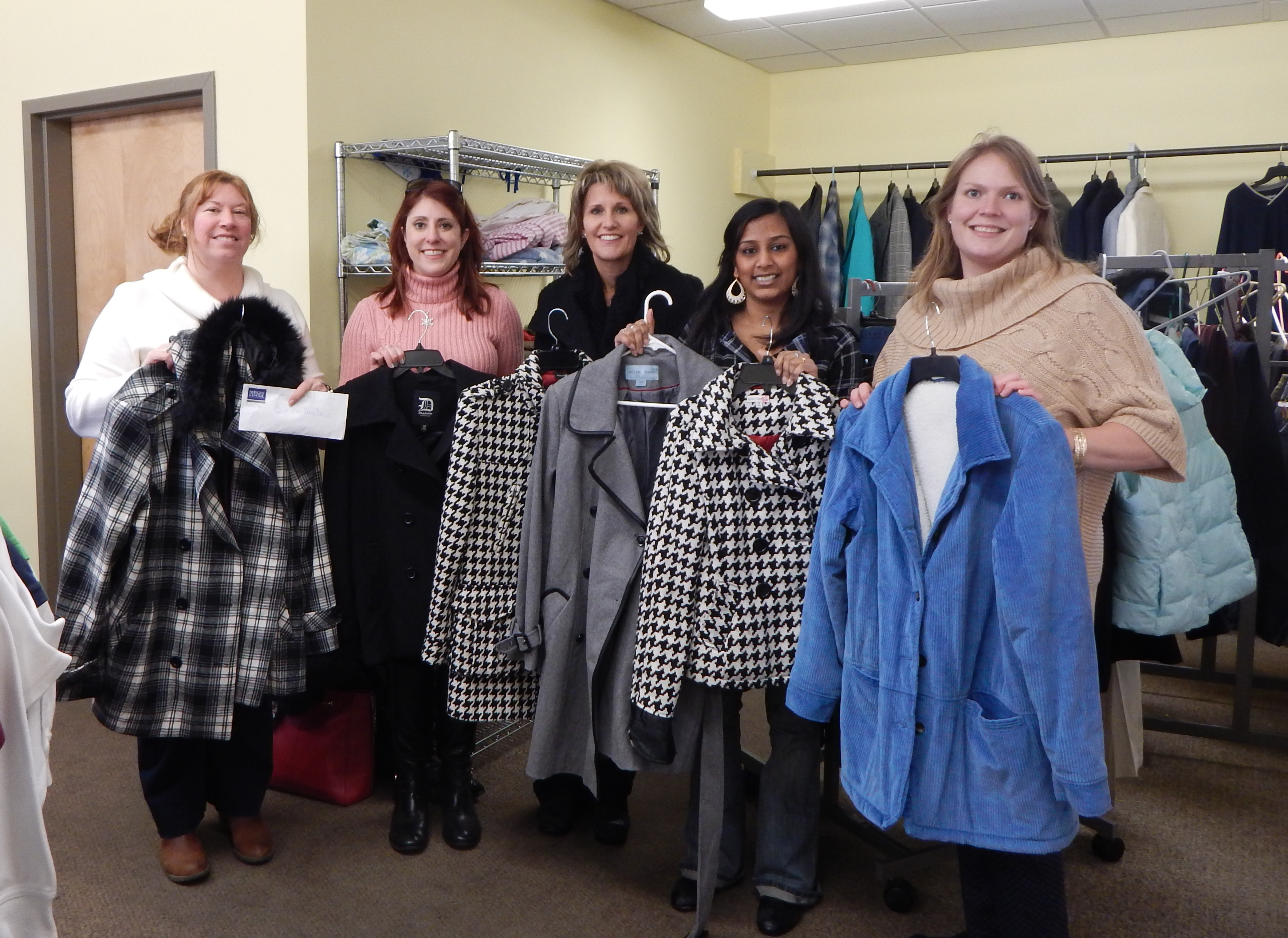 Medical Society Hosts Coat Drive For Angel S Attic
