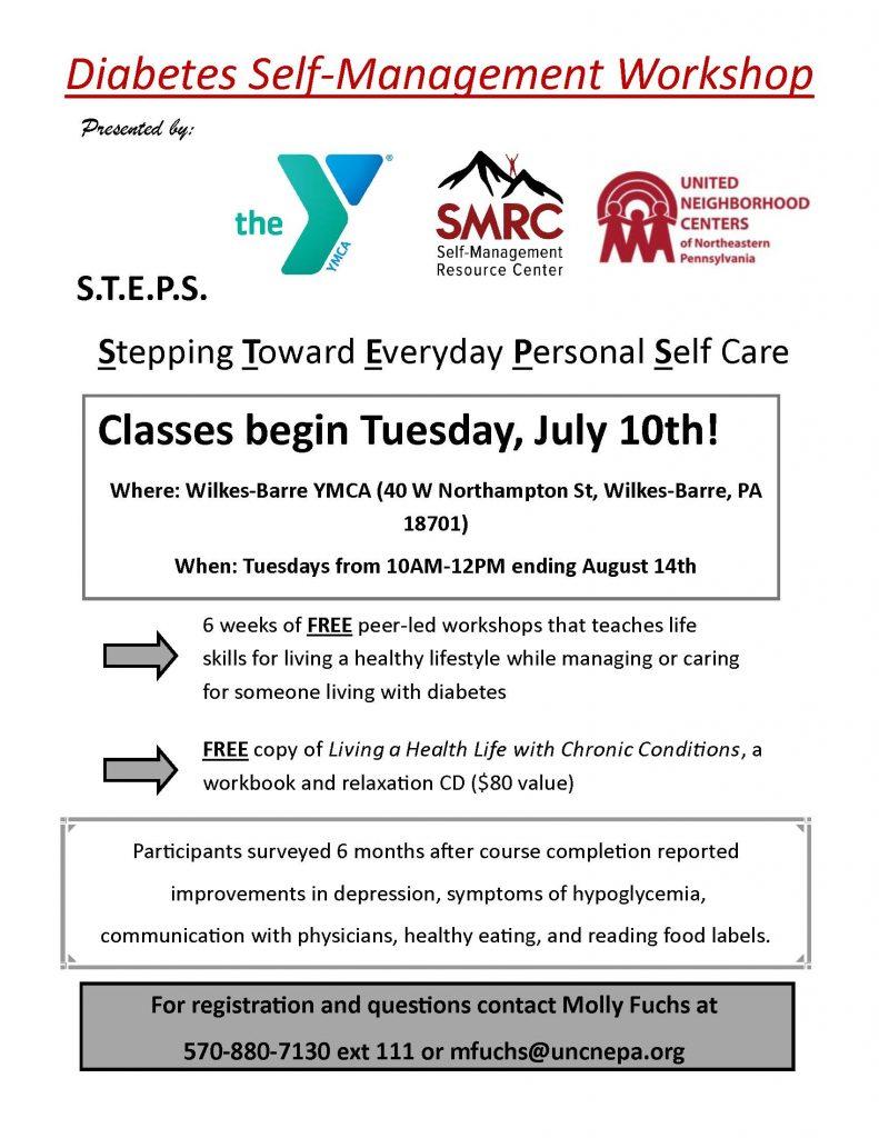 Diabetes Self-Management Workshop Offered in Wilkes-Barre